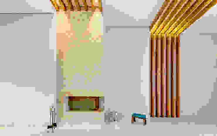 Residência T.C Salas de estar modernas por Zani.arquitetura Moderno
