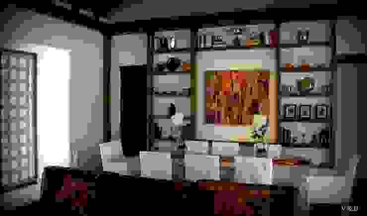 rustic  by VETA & DISEÑO, Rustic Solid Wood Multicolored