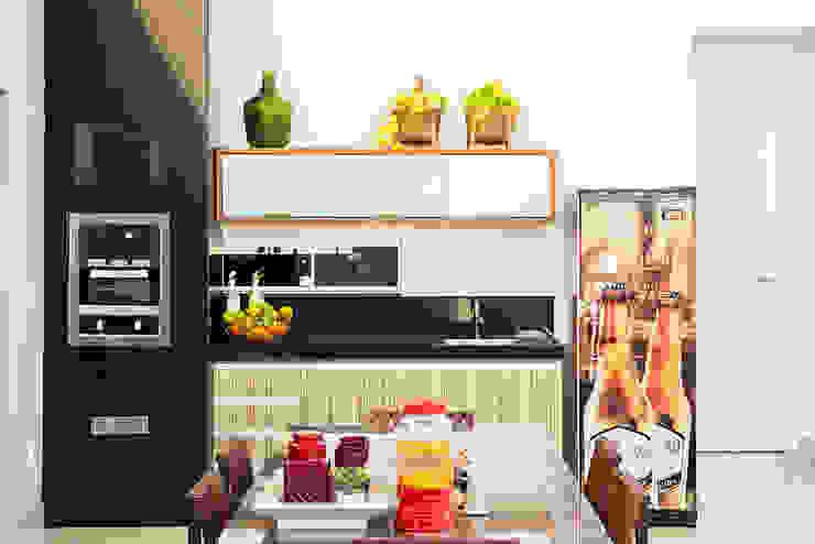 Cocinas de estilo minimalista de Duo Arquitetura Minimalista