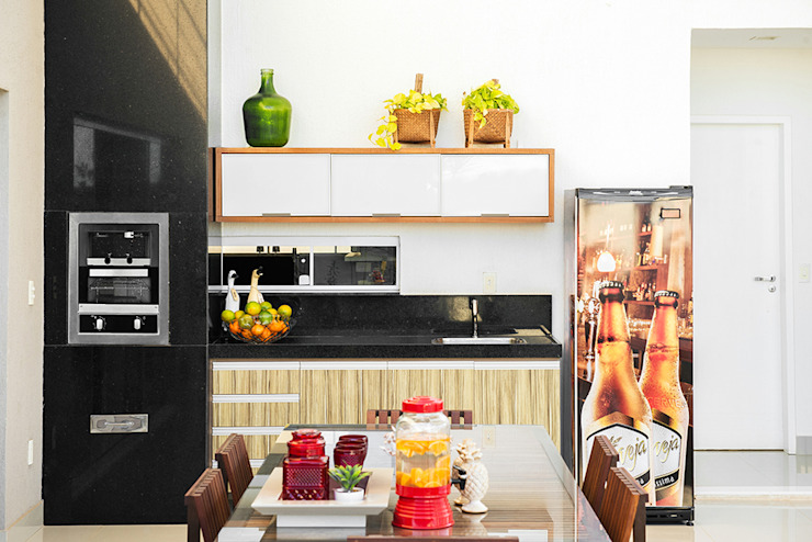 Cuisine minimaliste par Duo Arquitetura Minimaliste