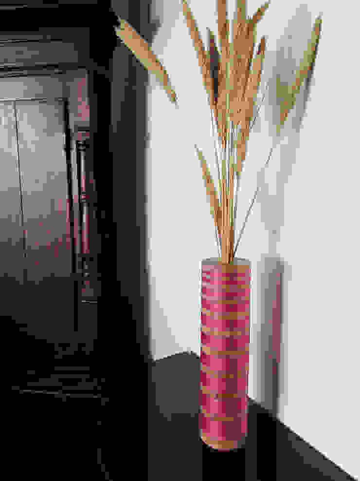 decorative vase Miriam Jones HaushaltAccessoires und Dekoration Holz