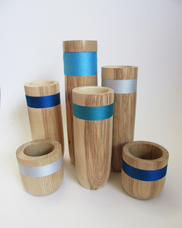 decorative vessels set Miriam Jones HaushaltAccessoires und Dekoration Holz