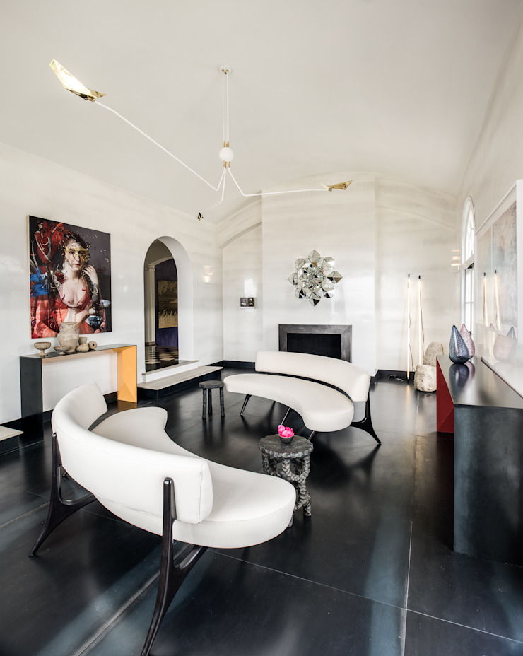 SALA DE ESTAR EM TELEGRAPH HILL Antonio Martins Interior Design Inc Modern Living Room