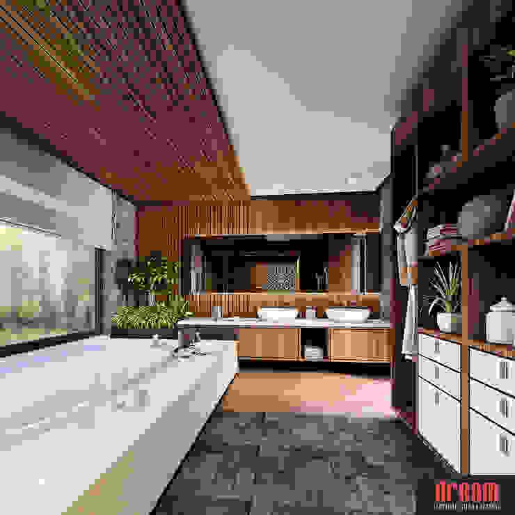 Modern style bathrooms by Estudio Meraki Modern