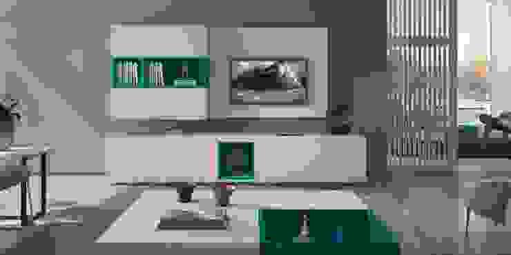 Mobiliário de sala de estar Living room furniture www.intense-mobiliario.com SASHA http://intense-mobiliario.com/pt/salas-de-estar/3619-sala-de-estar-sasha.html por Intense mobiliário e interiores; Moderno