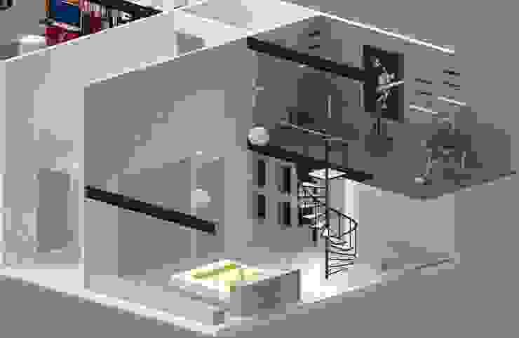 Recámara Principal Recámaras eclécticas de Molcajete Arquitectura Interiores Diseño Ecléctico