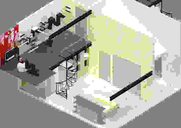 Recámara Niño Dormitorios infantiles de Molcajete Arquitectura Interiores Diseño Ecléctico