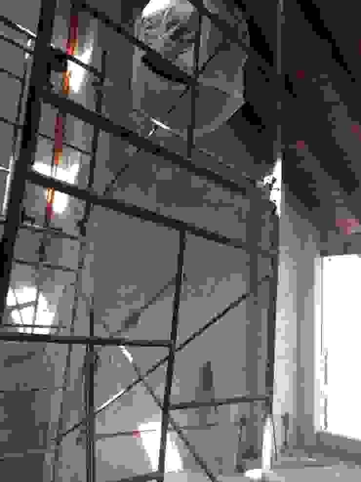 Loft de Recámaras Recámaras eclécticas de Molcajete Arquitectura Interiores Diseño Ecléctico