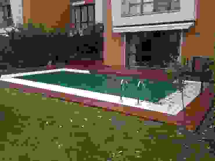 Jardin moderne par As3 Orman Ürünleri San Ve Tic Ltd Şti Moderne Bois Effet bois