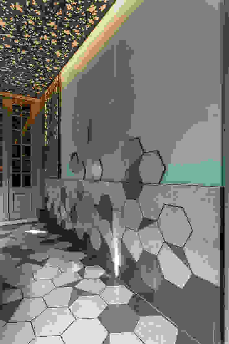 Espacios comerciales de estilo moderno de Matealbino arquitectura Moderno