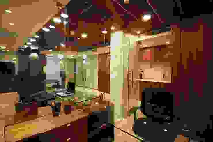 oficina J Oficinas de estilo minimalista de minima design & architecture studio Minimalista