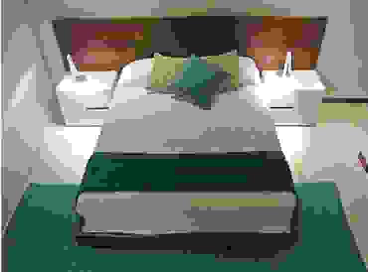 Recámara principal Dormitorios minimalistas de ArtiA desarrollo, arquitectura y mobiliario. Minimalista
