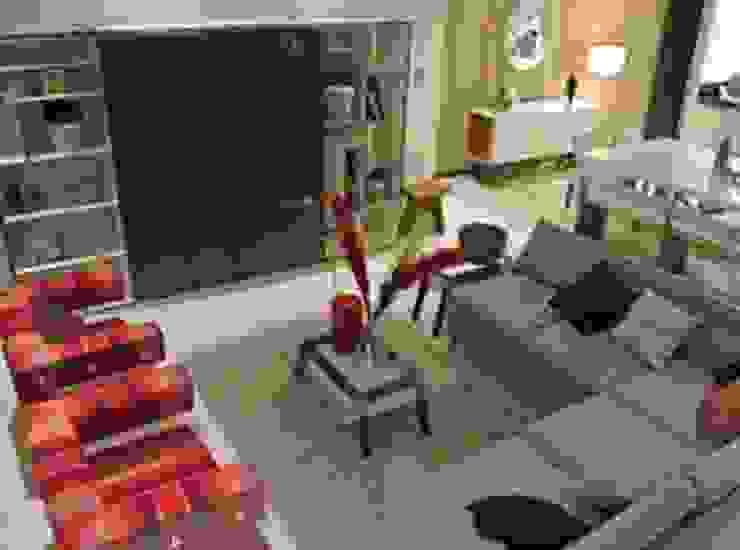 Sala Salones minimalistas de ArtiA desarrollo, arquitectura y mobiliario. Minimalista