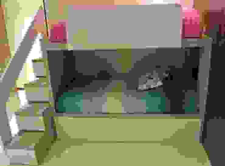 ArtiA desarrollo, arquitectura y mobiliario. Stanza dei bambini minimalista Bianco