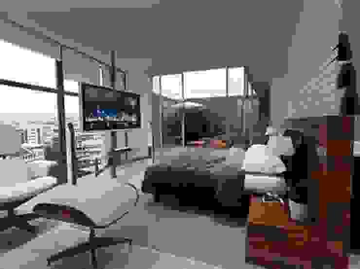 โดย ArtiA desarrollo, arquitectura y mobiliario. มินิมัล