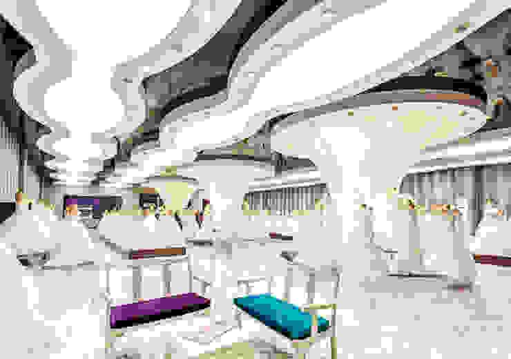 Tường & sàn phong cách hiện đại bởi Internova Stretch Ceiling & 3d Flooring Hiện đại