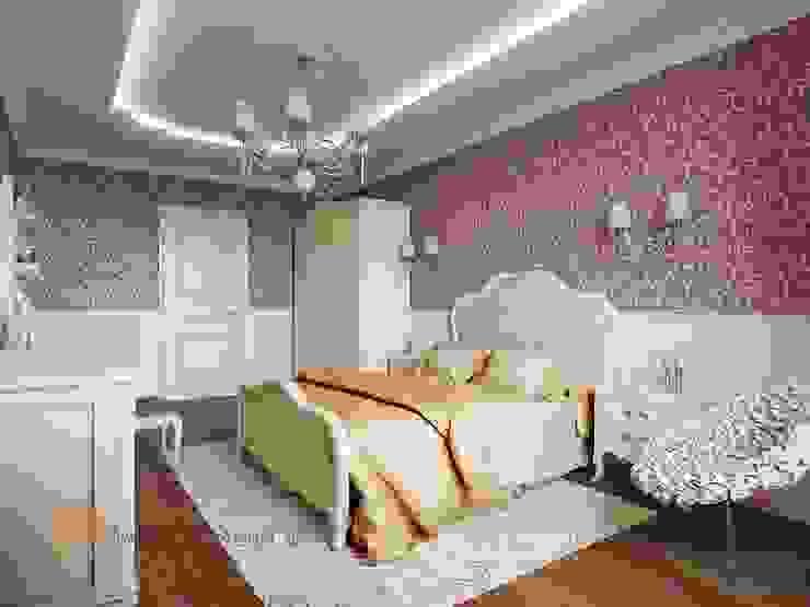 غرفة نوم تنفيذ Студия Павла Полынова, كلاسيكي