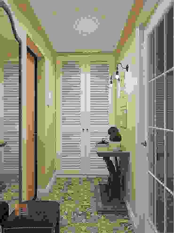 Pasillos, vestíbulos y escaleras de estilo clásico de Студия Павла Полынова Clásico