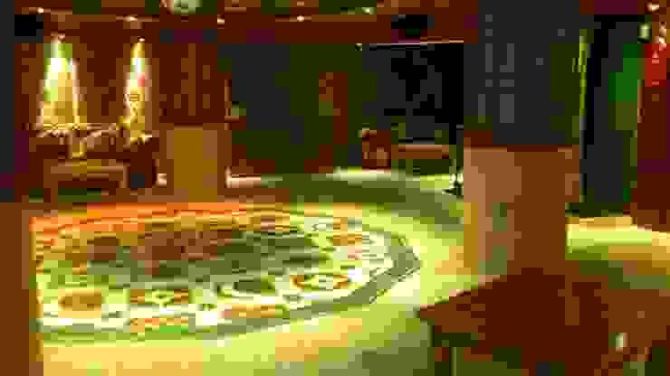 Proyecto en Nueva Andalucia Grabados en Mármol S.L Salones de estilo clásico