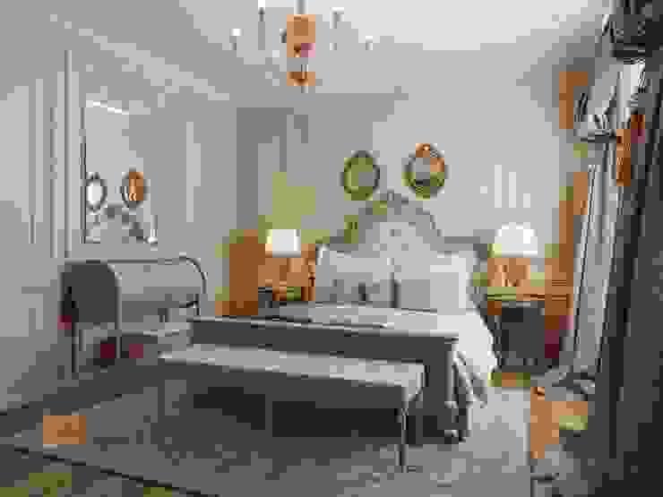 Bedroom by Студия Павла Полынова, Classic
