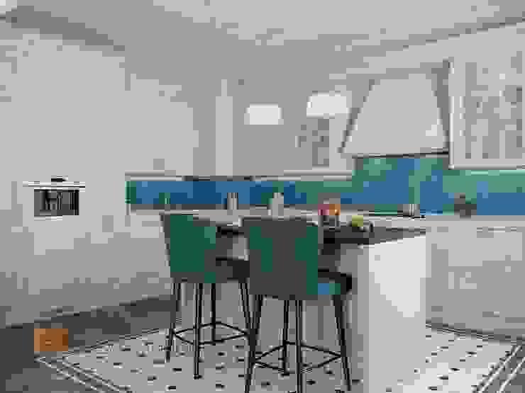 Kitchen by Студия Павла Полынова, Classic