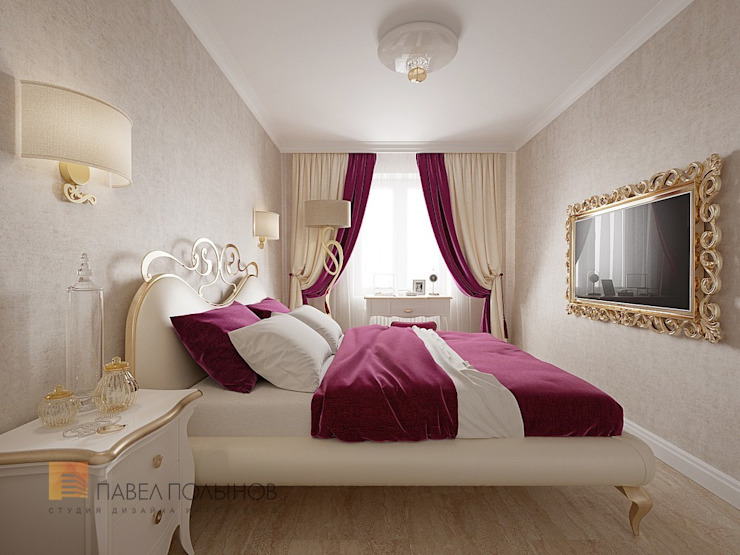 Classic style bedroom by Студия Павла Полынова Classic