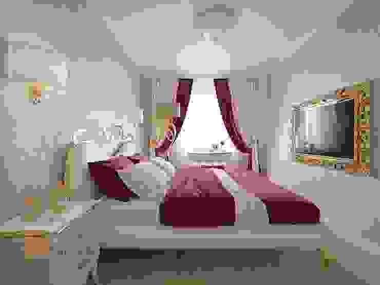 Phòng ngủ phong cách kinh điển bởi Студия Павла Полынова Kinh điển