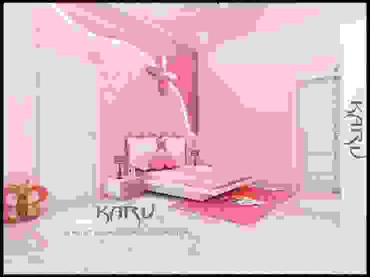 BEDROOM Modern nursery/kids room by KARU AN ARTIST Modern