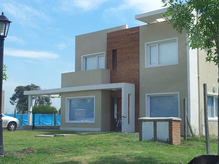 Casa San Alfonzo lote 210 Casas minimalistas de arquitectura siglo XXI Minimalista