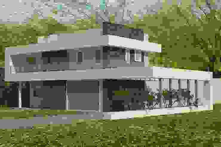 Minimalist Evler arquitectura siglo XXI Minimalist