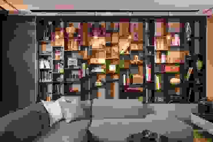 Salas multimedia de estilo moderno de Línea Vertical Moderno