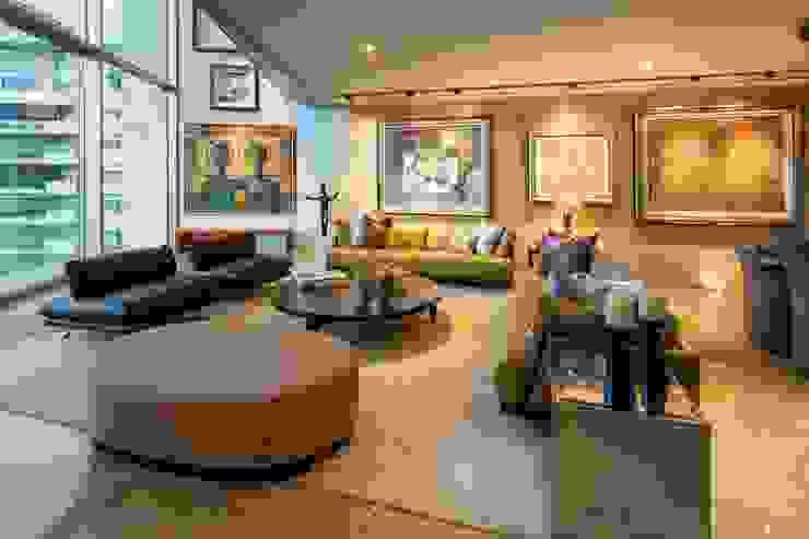 Salones de estilo moderno de Línea Vertical Moderno