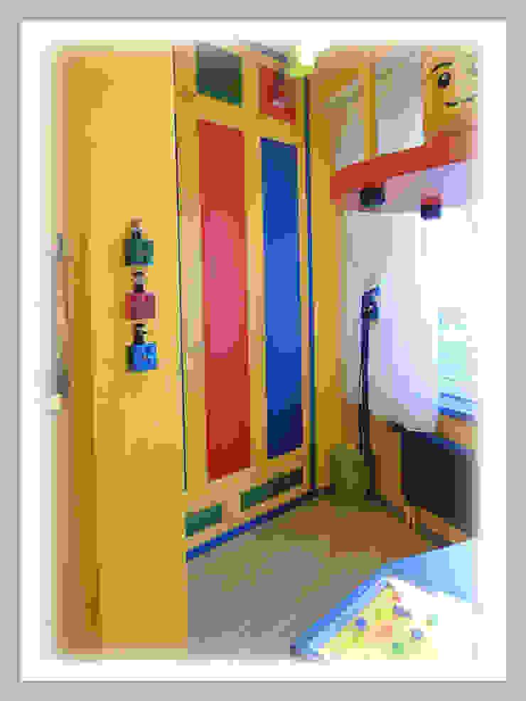 Мебель для детской в тематике ЛЕГО Фото от Рязанова Галина Скандинавский