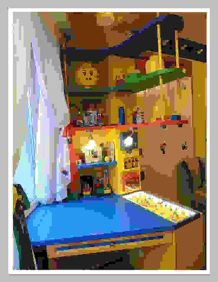 Мебель для детской в тематике ЛЕГО Рабочее место от Рязанова Галина Классический
