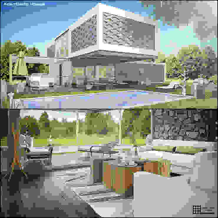 ACANTILADO HOUSE de MARINES STUDIO