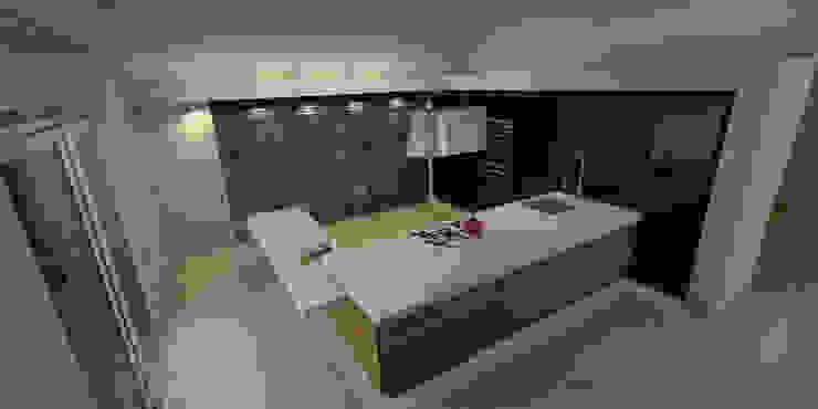 Cocina Cocinas modernas de AParquitectos Moderno Madera Acabado en madera
