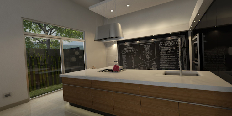 Cocina Cocinas modernas de AParquitectos Moderno