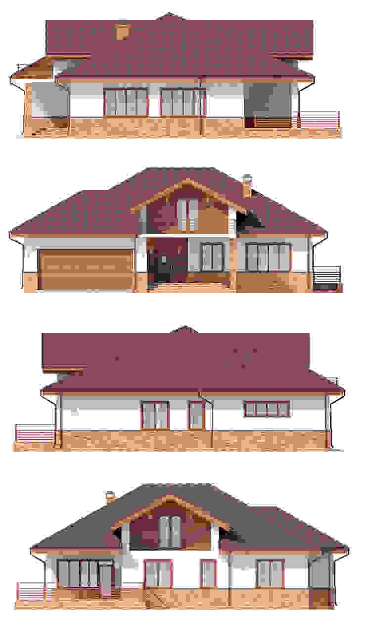 Марини_256 кв.м. Дома в скандинавском стиле от Vesco Construction Скандинавский