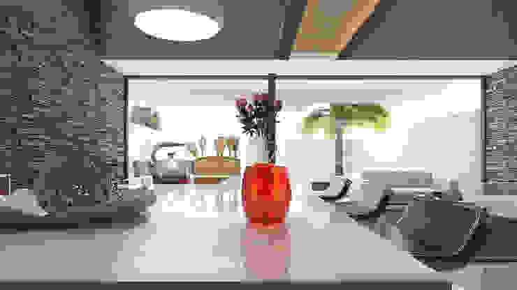 Isla cocina Comedores de estilo moderno de AParquitectos Moderno