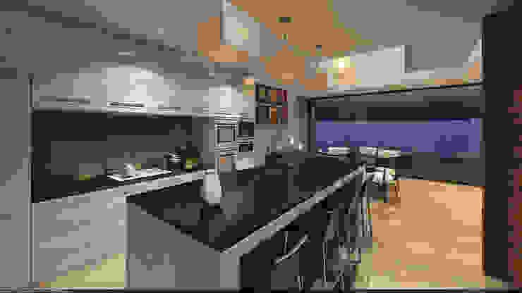 Cocina opción 2 Cocinas de estilo clásico de AParquitectos Clásico