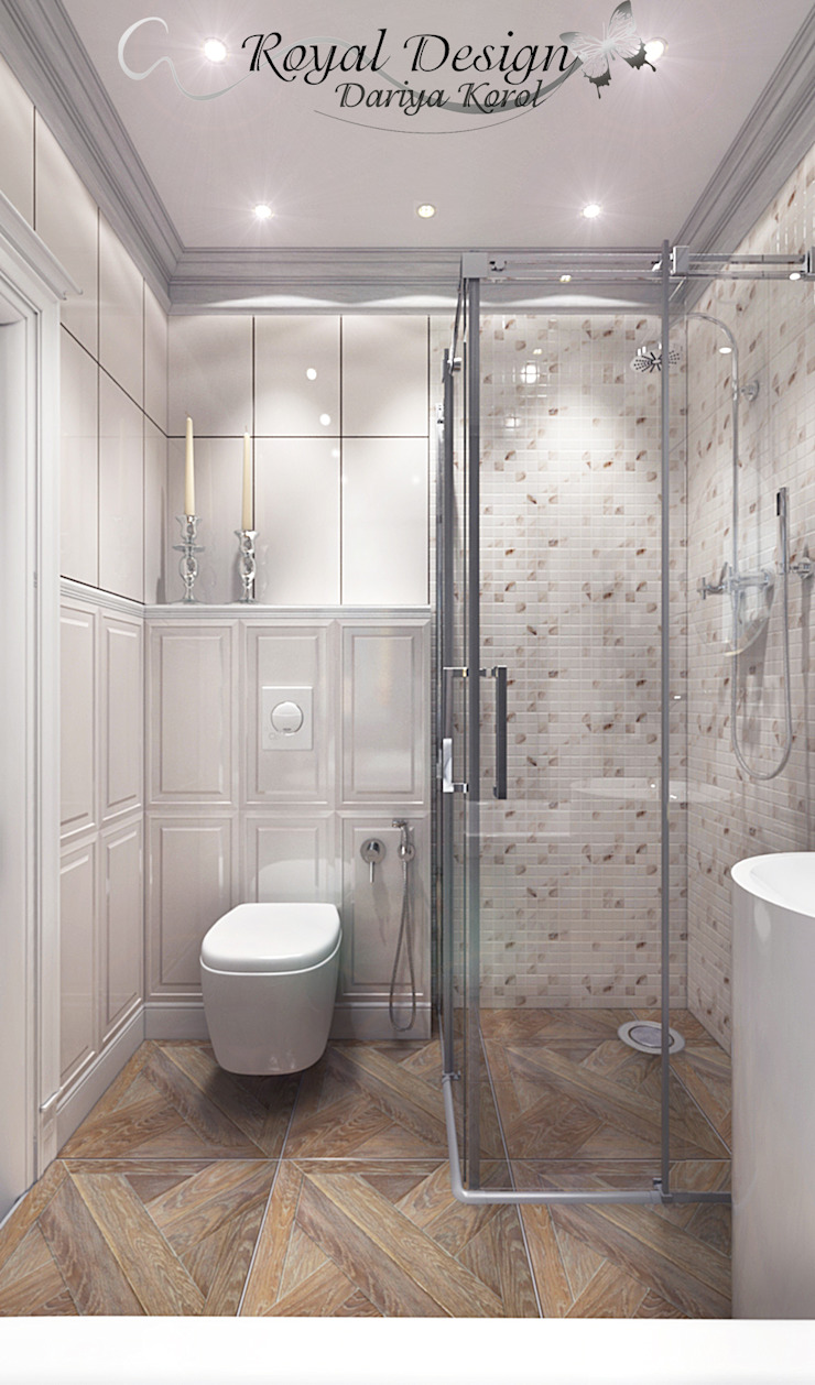 Your royal design Classic style bathroom White