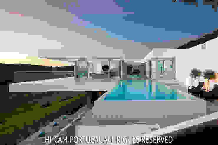 Villa Escarpa Casas modernas por Hi-cam Portugal Moderno Betão armado