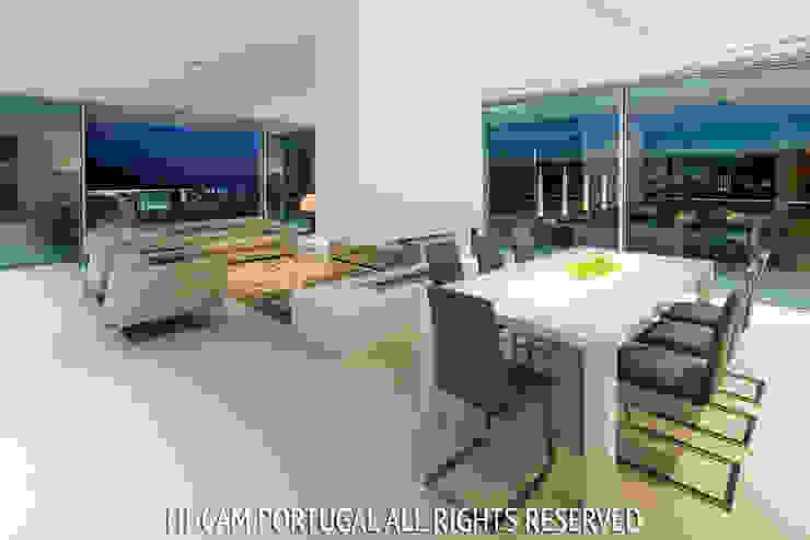 Villa Escarpa Hi-cam Portugal Salas de jantar modernas