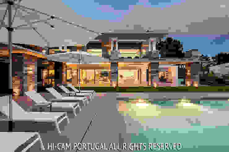 Monte Golf Casas modernas por Hi-cam Portugal Moderno