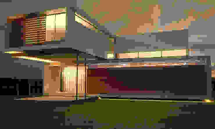 por metodokit - vivienda suburbana Moderno