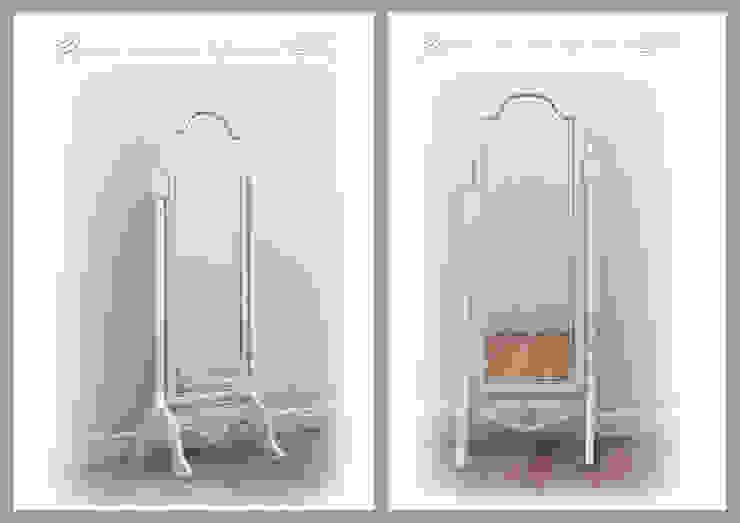 Напольное зеркало для спальни .Эскиз от Рязанова Галина Классический