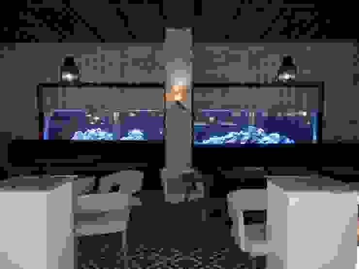 ADn's 6m cichlids aquarium por ADn Aquarium Design Clássico