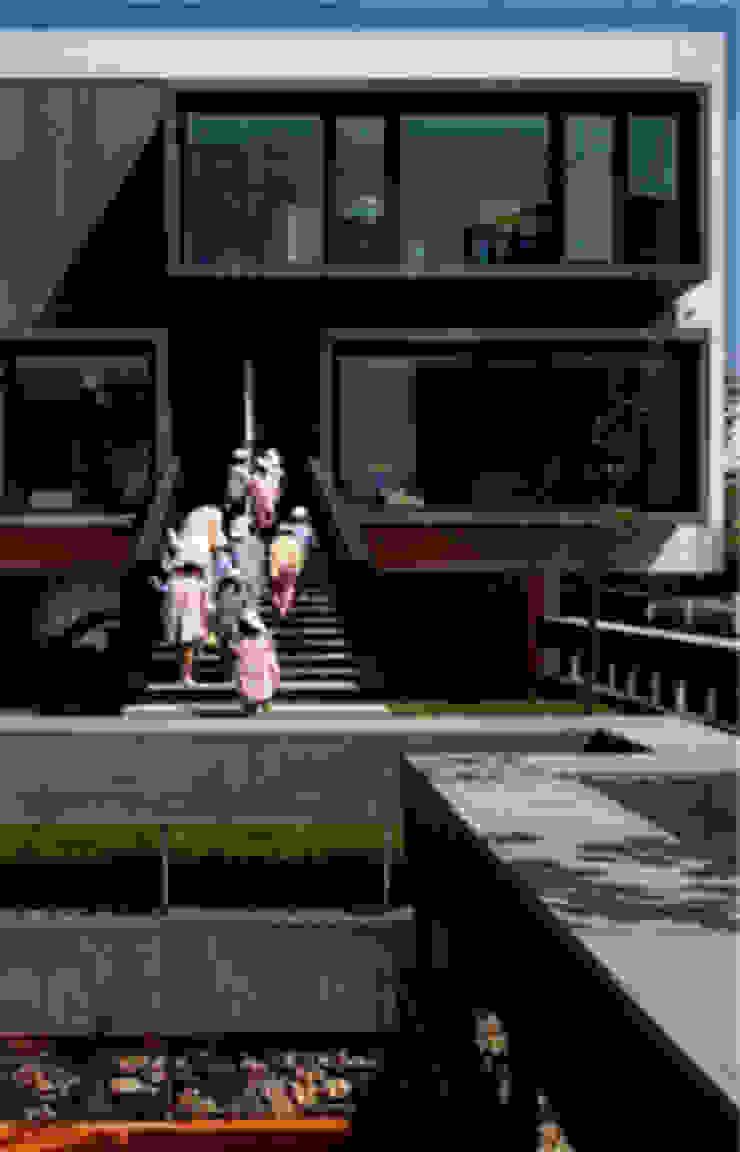 KOMPOZİT ÇİMENTO CEPHE KAPLAMALARI Modern Evler SARGRUP İNŞAAT VE ENERJİ LTD.ŞTİ. Modern Orta Yoğunlukta Lifli Levha