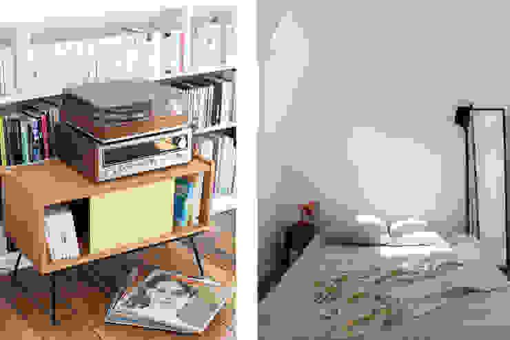 Transformation de chambres de bonne à Paris 11ème Chambre moderne par GALI Sulukjian Architecte Moderne