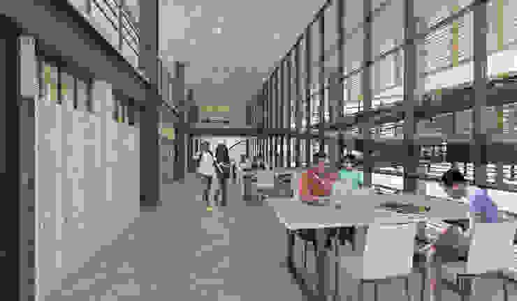 Centro Cultural de Casagrande Trujillo Salas multimedia modernas de Ctrl+ Moderno